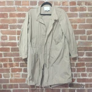PHILLIP LIM Beige Trench Coat/Fall Jacket, Size XS